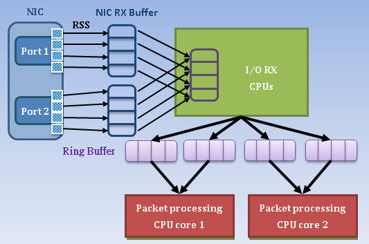software packet processing